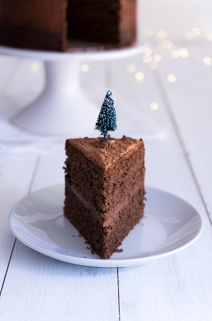 Naked Mulled Wine Layer Cake