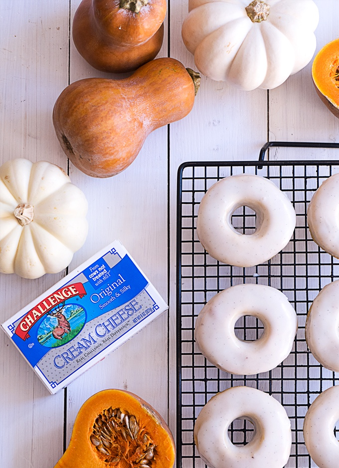 Pumpkin Brioche Donuts Ingredients