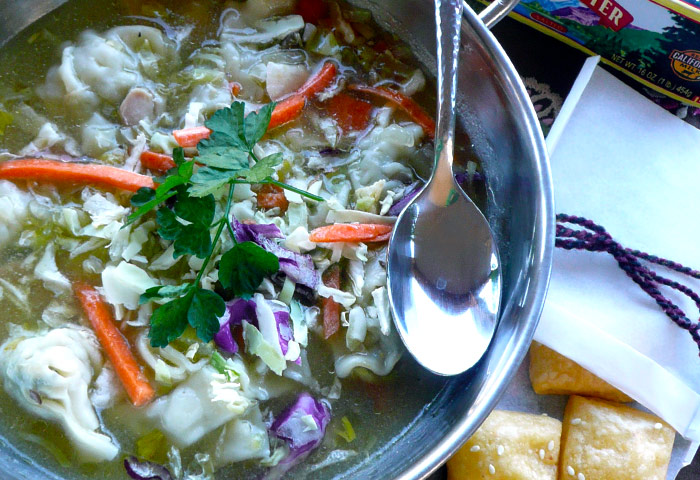 Ginger Lemongrass Chicken Soup Challenge Dairy