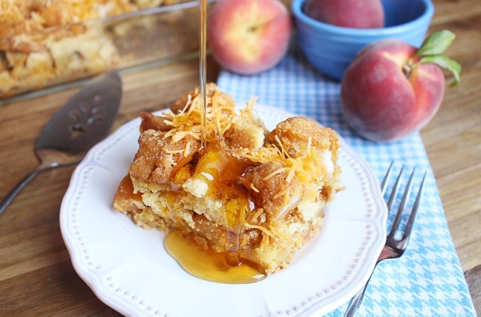 Chicken and Waffles Casserole