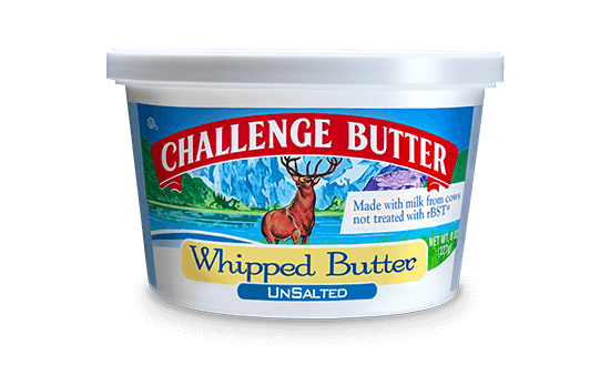 Challenge Unsalted Whipped Butter