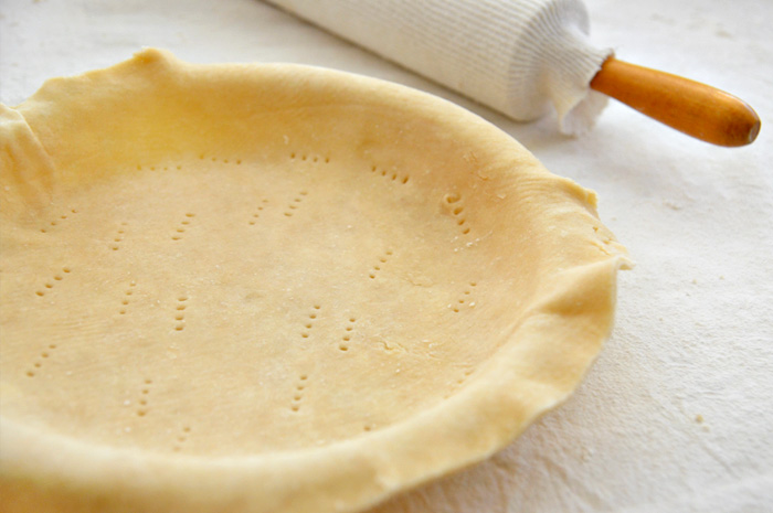 Butter Pastry for Single Crust 9-inch Pie