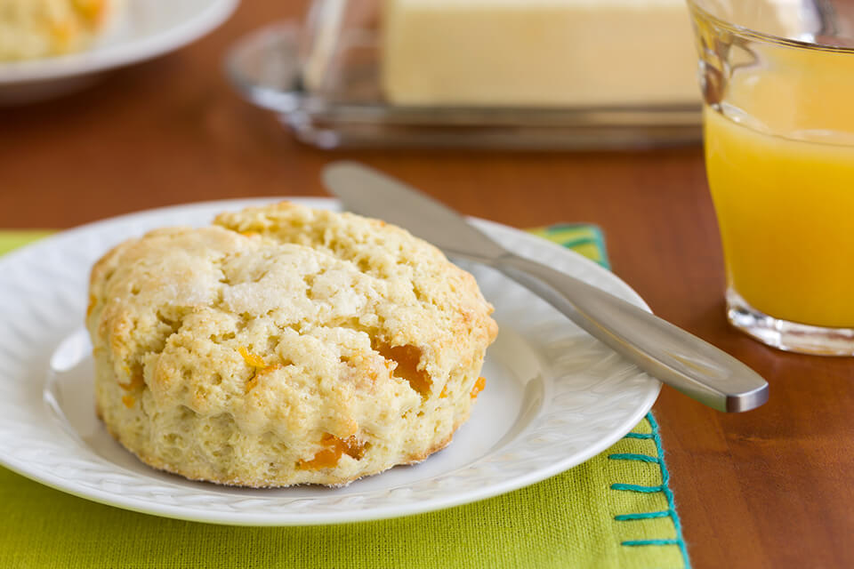 Cream Cheese Apricot Scones