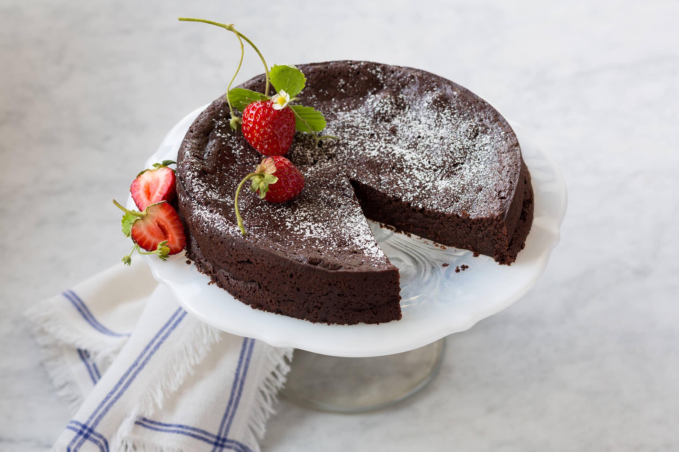 Flourless Dark Chocolate Torte Challenge Dairy