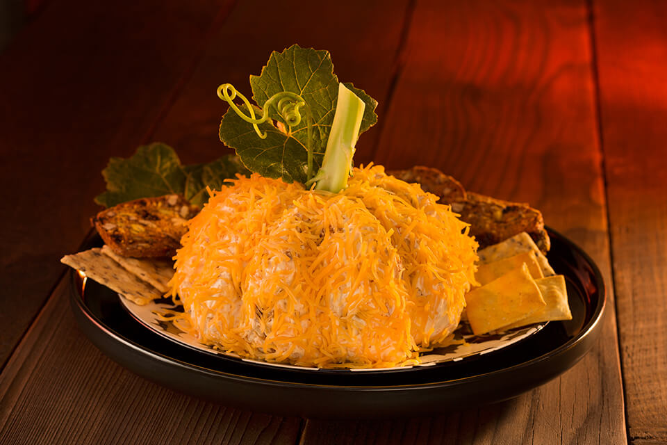 Great Pumpkin Cheeseball