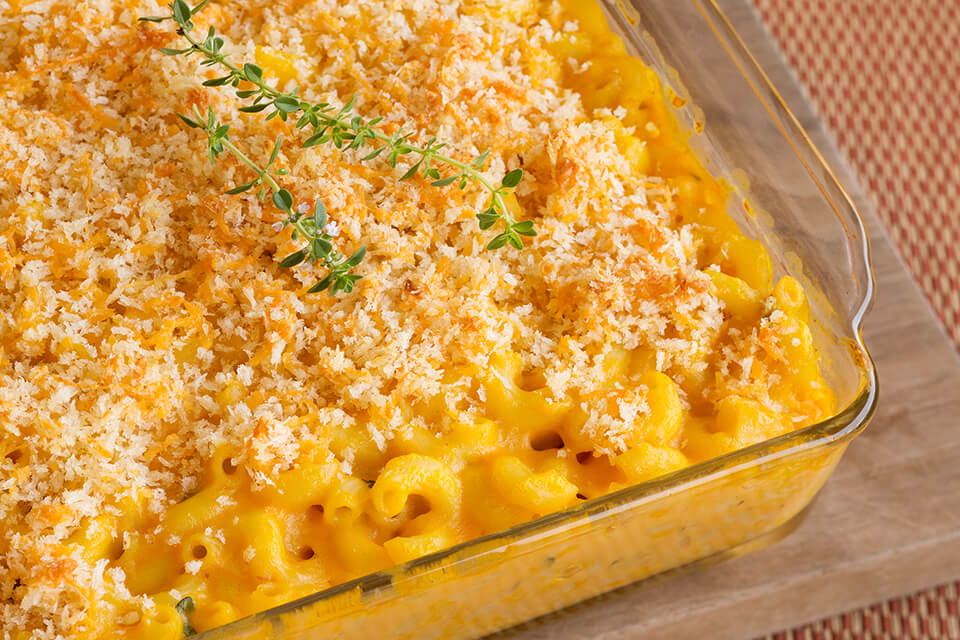 Pumpkin Thyme Macaroni and Cheese
